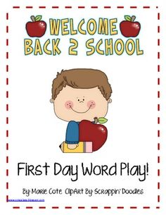This is just a fun little WELCOME BACK freebie for your students. It makes a great informal assessment for those early days, OR you can just use it...