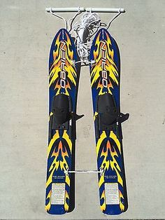 OBRIEN WAKESTAR TRAINERS 46 INCH WATER SKIS WITH 40 FOOT LINE Scuba Gear, Sports Equipment, Water Sports, Skiing, Trainers, Goodies, Ebay, Diving Equipment, Ski