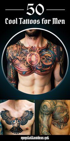50 Cool Tattoos for Men