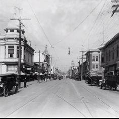 Historic downtown Santa Cruz