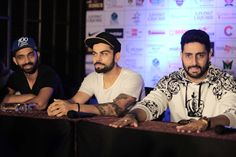 official jersey launch of celebrity classico 2016 an initative by corner store  sport ad as worldwide entertainment .  guest present at the event are virat kohli , abhishek bachan , arjun kapoor , ajinkya rahane . venue : ark , courtyard marriot , andheri east media coverage by vijay tasveer , contact no : 9323257369 pro : parag desai date : 3rd june  2016