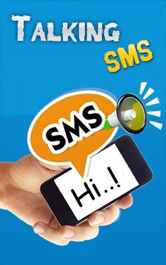 Talking SMS app frre to download for android users.  https://play.google.com/store/apps/details?id=com.gamelezend.talkingsms This app lets you read the SMS. Announce sender name and read message body a loudly. People who want their SMS read when they are unable to read this message. Blind people can make use of this app. With a simple 4 buttons interface, you can select what you want aloud in your SMS. loyer android vertions can change your phone
