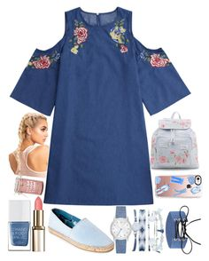 """""""Denim obsession"""" by cris05 on Polyvore featuring Joy & Mario, New Look, A.X.N.Y., Casetify, Torrid and The Hand & Foot Spa"""