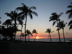 Hawaiian Sunset, Hawaiian islands