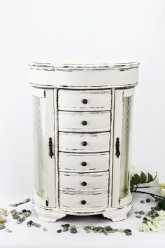 FABULOUS JEWELRY ARMOIRE Large Jewelry Box Gift For Her Boho
