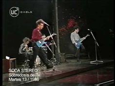 """Soda Stereo - """"Sobredosis de TV"""" - Martes 13, 1986. - YouTube"""
