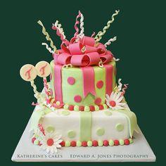 Fiftieth Birthday Cakes | Birthday 121 — Birthday Cake for Teresa's 50th Birthday