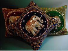 Spdny01, 42 * 42 cm, elefante tailandés almohada hechos a mano de lentejuelas bordado con cuentas de sección de la cubierta del sofá traje suave decoración de la tela en Cojín de Hogar y Jardín en AliExpress.com | Alibaba Group