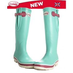 Rockfish Tri Coloured Wellingtons by RockfishWellies on Etsy