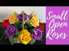 Welcome to my crochet channel. Here you will find videos about to make all types of crochet flowers. Purple Flower Bouquet, Small Purple Flowers, Small Rose, Crochet Flower Patterns, Crochet Flowers, Lotus Flower Seeds, Couture Beading, Crochet Flower Tutorial, Crochet Tutorials