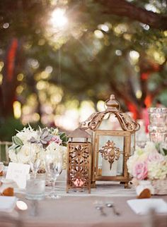 romantic, modern, outdoor Southern California real wedding