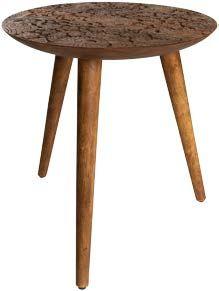 Dutchbone by Hand Large Side Table in Solid Sheesham Wood Bed Furniture, Living Room Furniture, Furniture Design, Petites Tables, Large Table, Recycling Bins, Wonderwall, Decoration Table, Wood Species