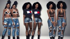 Immortalsims — Tommy Girl 1. Hair [xx] - @voidfeather...