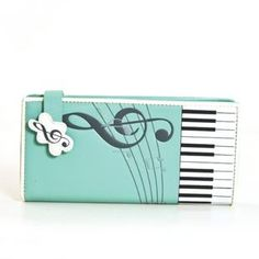 Music Notes Keyboard Wallet, Similar to mine but love this one so much better