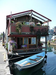 House Boat, I've always thought having one of these would be neat!