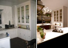 Before and after bungalow updates