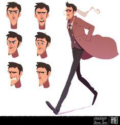 Rayner Portifólio: Character Design , Visual Development | Character Design