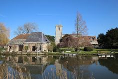 Wareham, on The River Frome, Dorset.