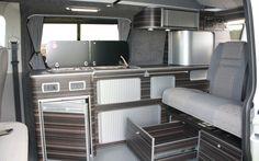 Tourer Curve Campervan Conversion suitable for VW T4, T5, Vito, Trafic