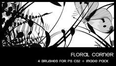Floral corner by deviantales.deviantart.com on @deviantART