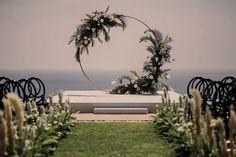 Stylish & Trendy Black & White Wedding in Thai Villa: Emily & Matt
