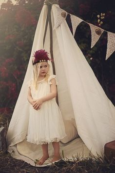 20 Fashion-Forward Flower Girl Dresses via Brit + Co