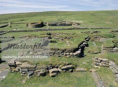 Pictish/Norse settlement at Brough of Birsay, Mainland, Orkneys, Scotland, United Kingdom, Europe