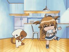 Kilari dance comme Na-san devant la télé