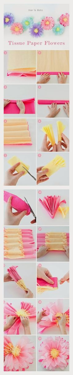 How to Make Paper Flowers | Who said Crafts