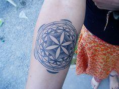 25 Fabulous Flower of Life Tattoo Designs