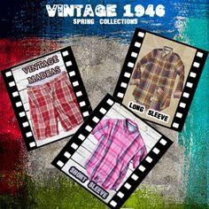 Vintage Style shorts, shirts and pants