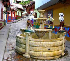 The Guatape Village, Colombia.