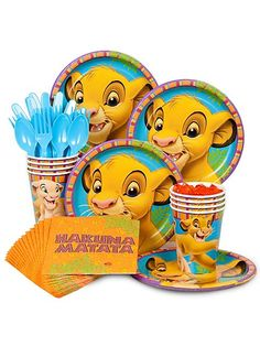 Lion King Standard Kit -Lion King Party Supplies