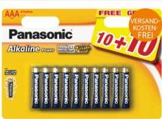 Panasonic: Batterien im 20er-Pack für 7,99 Euro frei Haus https://www.discountfan.de/artikel/technik_und_haushalt/panasonic-batterien-im-20er-pack-fuer-7-99-euro-frei-haus.php Wer das Batterien-Spezial von Amazon verpasst hat, kann sich jetzt bei Saturn eindecken: Das 20er-Pack Batterien von Panasonic (wahlweise AA oder AAA) gibt es jetzt für 7,99 Euro frei Haus. Panasonic: Batterien im 20er-Pack für 7,99 Euro frei Haus (Bild: Saturn.de) Die Schnäppchen-Batterien von P.