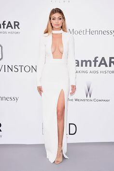 Gigi Hadid in Tom Ford at the amFar gala