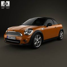 Mini Cooper roadster 2013 3d model from humster3d.com. Price: $75