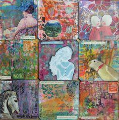 Frieda Oxenham: Art Cards 188 - 196