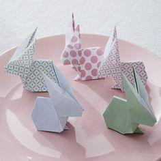 0 lapin origami comment faire un origami en papier coloré animaux origamis
