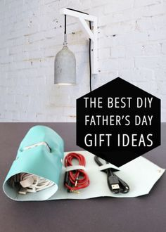 The best DIY projects & DIY ideas and tutorials: sewing, paper craft, DIY. Diy Crafts Ideas 25 cool DIY gifts for Fathers Day. Taylor needs this cord roll-up desperately. Diy Gifts For Dad, Diy Father's Day Gifts, Father's Day Diy, Daddy Gifts, Homemade Gifts, Fathers Day Crafts, Happy Fathers Day, Daddy Day, Craft Activities