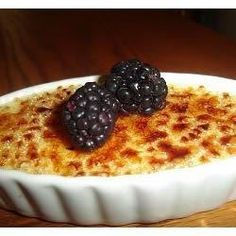"Creme Brulee I ""This was so easy to make and delicious and a real crowd pleaser. """