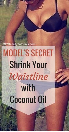In a research experiment involving obese men, an intake of 30 grams (2 tbsp) of coconut oil for 4 weeks reduced waist circumference by 2.86 cm, or 1.1 inches.