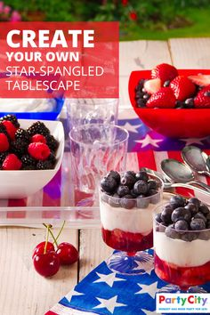 Searching for great July 4th party ideas? Dress up your table in red, white and blue with a little help from Party City. From star-spangled serving dishes to patriotic runners, Party City is home to everything you need to make sure your party goes off with a bang. For fun and creative ways to show your pride, shop PartyCity.com.