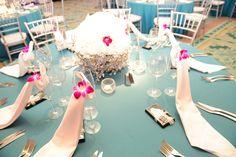#cayman #wedding centrepiece Celebrations Ltd | Cayman Weddings & Events