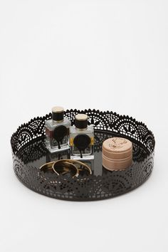 Damn you Urban Outfitters! This vanity tray so cute and chic. It has changed my entire frame of reference for where my makeup should be seated.