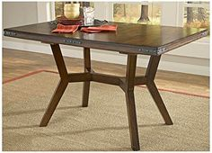 Hillsdale Furniture Arbor Hill Colonial Chestnut Extension Dining Table