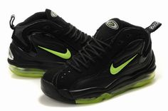 Nike Air Total Max Uptempo Black Green Mens shoes