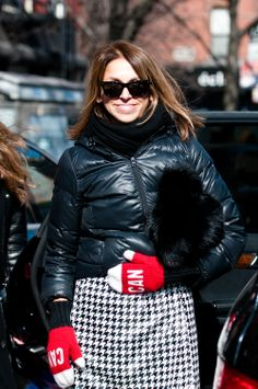 Spotted at NYFW: SVP Fashion Director of Hudson's Bay, Suzanne Timmins by Steven Lee