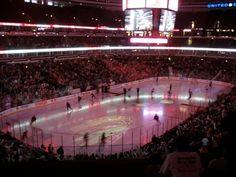 United Center 'Hawks v. Wings dream hockey game