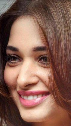 Indian Actress Hot Pics, Most Beautiful Indian Actress, Beautiful Actresses, Indian Actresses, Beautiful Girl Photo, Beautiful Lips, Beautiful Black Women, Beautiful Dolls, Tamanna Bikini