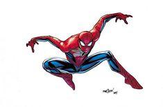 Spiderman- A Closer Look At The All-New, All-Different Marvel Characters Post Secret Wars | Comicbook.com Artist- David Marquez, Colourist- Matt Wilson